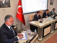 Vali Öksüz, Başkan Bilgen'den okul yollarının yapılmasını istedi