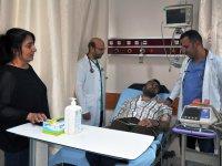 KAÜ, Araştırma Hastanesinde, hastaya nadir görülen bir tanı