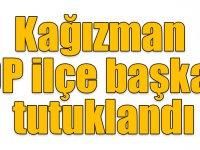 Kağızman HDP ilçe başkanı tutuklandı