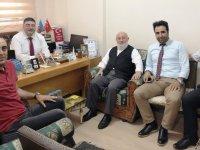 Türk Kızılay'ından Kars Kuzey Doğu Gazeteciler Cemiyetine ziyaret