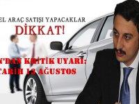 Başkan Alibeyoğlu'ndan kritik uyarı