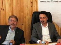 Kars Ticaret ve Sanayi Odası ve Kars Ticaret Borsası müşterek toplantısı gerçekleştirildi.