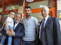"""Bakan Arslan: """"Bu gururu tüm halkımızla birlikte yaşıyoruz"""""""