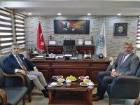 Kaymakam Çınar'dan kurumlara iadeyi ziyaret