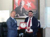 KKDGC Başkanı Daşdelen'den Emniyet Müdürü Bitirik'e veda ziyareti