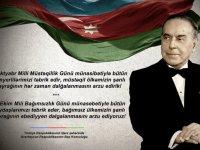 """Guluyev: """"Azerbaycan'ın bağımsızlığını Ümummilli lider Haydar Aliyev`e borçludur"""""""
