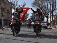Kars'ta motosikletli polis dönemi başladı
