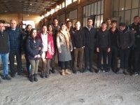 Meslek Lisesi öğrencileri Kars'ta ustaları ziyaret etti