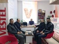 AK Parti Kars İl Başkanı Adem Çalkın, Kağızman'da sorunları dinledi