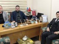 MHP Kars İl Başkanı Tolga Adıgüzel'den Daşdelen'e hayırlı olsun ziyareti