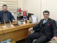 Valilik Basın Müdürü Seyit Müçteba Erdem'den Daşdelen'e 'hayırlı olsun' ziyareti