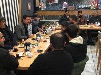 Başkan Alibeyoğlu Sarıkamışlı üyeler ile bir araya geldi