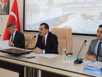 Kars'ta yılın ilk koordinasyon kurulu toplantısı yapıldı