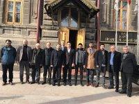 """AK Parti ve Kars TSO Heyeti """"Kars"""" için bir araya geldi"""