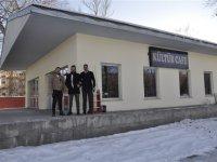 Kars Belediyesi Kültür & Sanat Kafenin açılışını yaptı