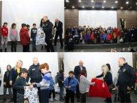 Kars Emniyetinden, çocuklar için film etkinliği
