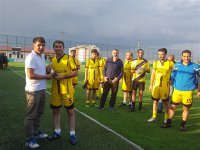 Kars'ta 15 Temmuz şehitleri anısına futbol turnuvası