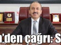 Düzgün'den çağrı: Son tarih 7 Şubat!