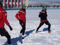 Kars 36 Spor Iğdır Esspor hazırlıklarını sürdürüyor