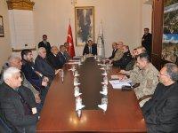 Kars'ta yolcu taşımacılığında alınacak tedbirler masaya yatırıldı