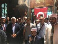 Başkan Karaçanta, hacı adaylarını kutsal topraklara uğurladı