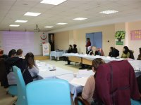 Sağlık personeline ÜSEM eğitimi verildi