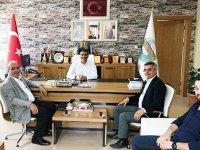 DSİ Kars 24. Bölge Müdürü Dündar'dan Susuz Belediyesine ziyaret