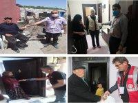 """Kars'ta, """"Vefa Sosyal Destek Grubu"""" 9 bin 531 talebi karşıladı"""